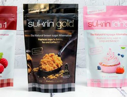 Is Sukrin koolhydraatarm en dus geschikt voor diabetici?